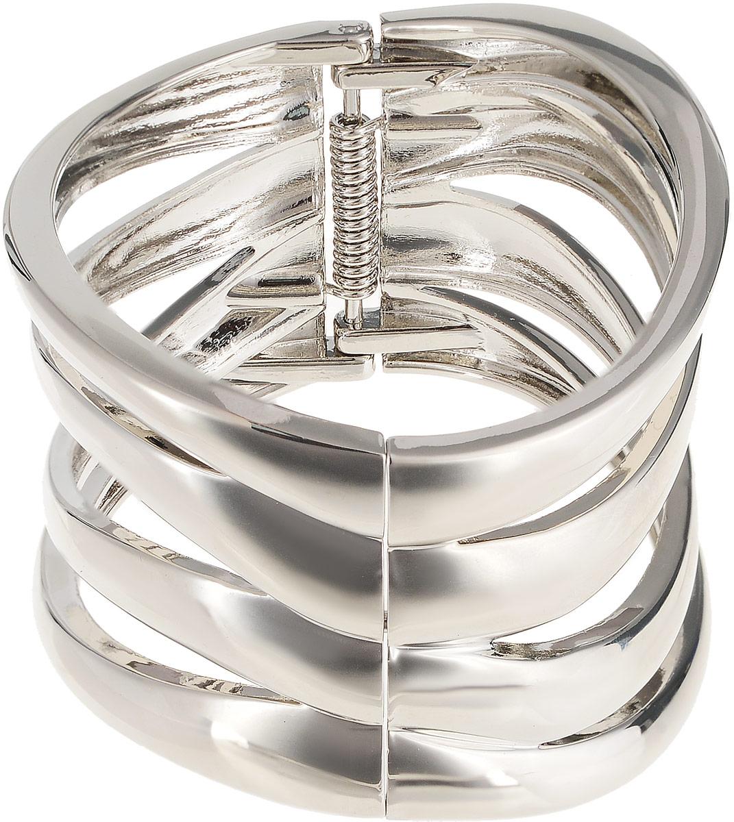 Браслет Каир. Гипоаллергенный ювелирный сплав серебряного тона. Segura, ИспанияT-B-5713-BRAC-RHODIUMБраслет Каир. Гипоаллергенный ювелирный сплав серебряного тона. Segura, Испания. Размер: диаметр 6,5 см, браслет подойдет на любой размер.
