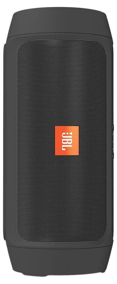 JBL Charge 2+, Black портативная акустическая системаCHARGE2PLUSBLKEUПортативная акустическая система JBL Charge 2+ с поддержкой Bluetooth и защитой от брызг позволяет быстро организовать вечеринку, воспроизводя мощный и высококачественный стереозвук, а благодаря аккумулятору на 6000 мАч вы сможете прослушивать музыку до 12 часов, одновременно подзаряжая свои устройства. Встроенный микрофон с функцией шумоподавления гарантирует безупречно четкий звук при звонках, а функция Social Mode позволяет подключить до 3 устройств, с которых вы сможете воспроизводить музыку по очереди. Поддержка технологии Bluetooth позволяет передавать потоковую музыку в высоком качестве с мобильных устройств. Источником звука может быть мобильный телефон, планшетное устройство или ноутбук - эта модель сможет с ним работать. Наличие пассивных излучателей обеспечивают более насыщенное звучание низких частот.