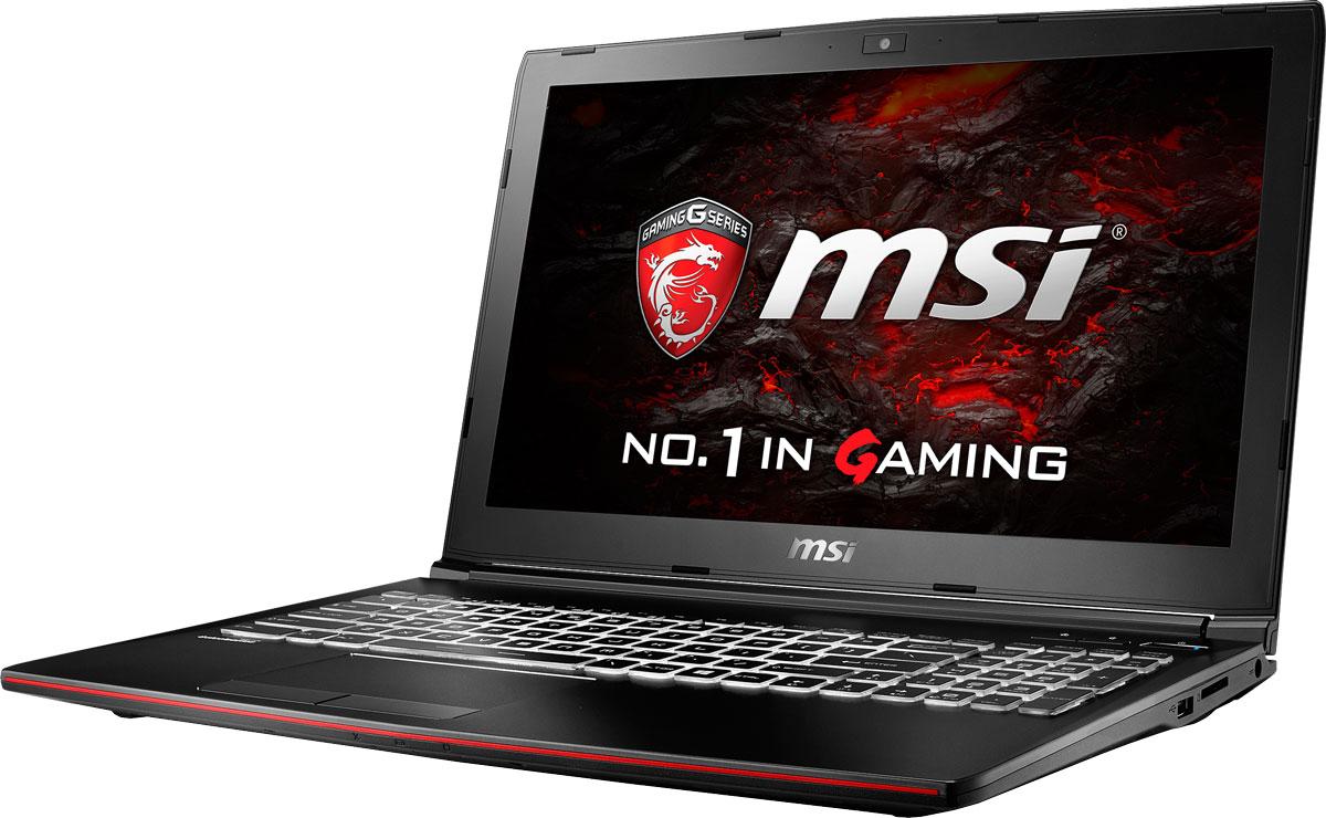 MSI GP62M 7RD-660RU Leopard, BlackGP62M 7RD-660RUMSI GP62M 7RD Leopard - это мощный ноутбук, который адаптирован для современных игровых приложений. Стильный шлифованный алюминиевый корпус прекрасно подчёркивает эстетику и мощь этой игровой машины. Седьмое поколение процессоров Intel Core серии H обрело более энергоэффективную архитектуру, продвинутые технологии обработки данных и оптимизированную схемотехнику. Производительность Core i7- 7700HQ по сравнению с i7-6700HQ выросла в среднем на 8%, мультимедийная производительность - на 10%, а скорость декодирования/кодирования 4K-видео - на 15%. Аппаратное ускорение 10-битных кодеков VP9 и HEVC стало менее энергозатратным, благодаря чему эффективность воспроизведения видео 4K HDR значительно возросла. Запускайте игры быстрее других благодаря потрясающей пропускной способности PCI-E Gen 3.0x4 с поддержкой технологии NVMe на одном устройстве M.2 SSD. Используйте потенциал твердотельного диска Gen 3.0 SSD на полную. Благодаря оптимизации аппаратной и...
