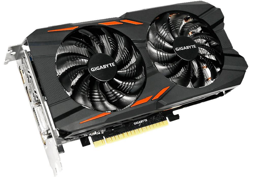 Gigabyte GeForce GTX 1050 Windforce OC 2G 2GB видеокарта