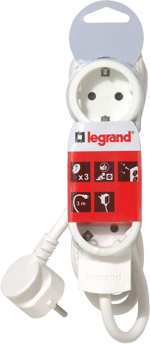 Legrand Стандарт сетевой удлинитель 3 x 2К+З (3 м)