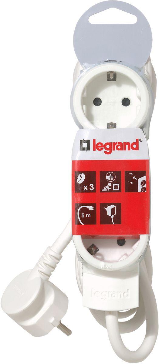 Legrand Стандарт сетевой удлинитель 3 x 2К+З (5 м)
