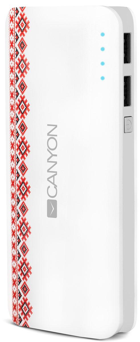 Canyon CNE-CPB130V Vyshyvanka Pattern внешний аккумулятор (13000 мАч)