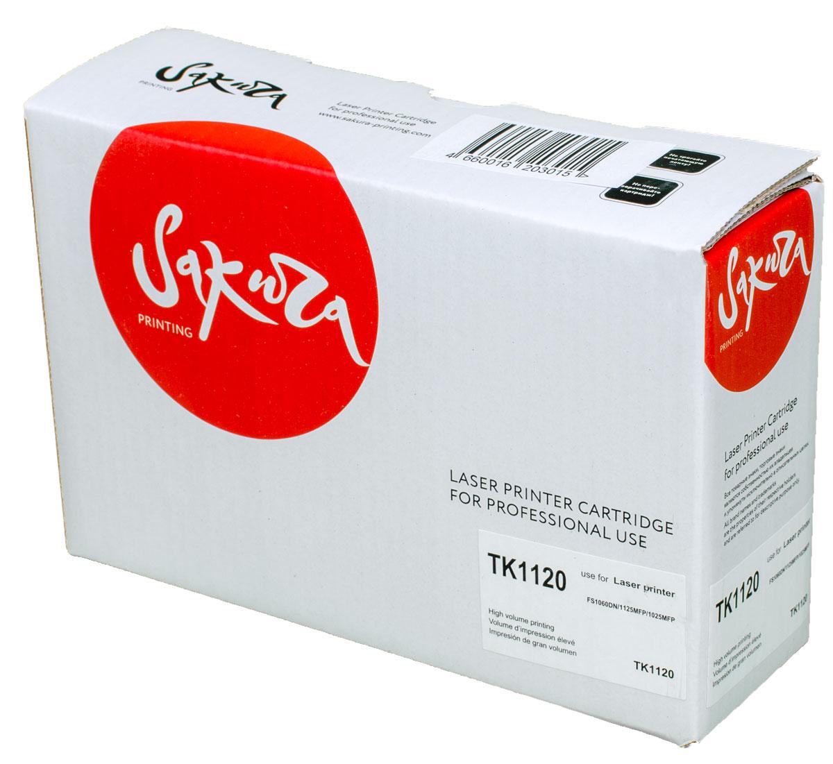 Sakura TK1120, Black тонер-картридж для Kyocera FS11060DN/FS1125MFP/FS1025MFPSATK1120Тонер-картридж Sakura TK1120 для лазерных принтеров Kyocera FS11060DN/FS1125MFP/FS1025MFP является альтернативным решением для замены оригинальных картриджей. Он печатает с тем же качеством и имеет тот же ресурс, что и оригинальный картридж. В картриджах компании Sakura используется химический синтезированный тонер, который в отличие от дешевого тонера из перемолотого полимера, не царапает, а смазывает печатающий вал, что приводит к возможности многократных перезаправок картриджей. Такой подход гарантирует долгий срок службы принтера, превосходное качество и стабильность печати. Тонер-картриджи Sakura производятся при строгом соответствии стандартам ISO 9001 и ISO 14001, что подтверждено международными сертификатами.