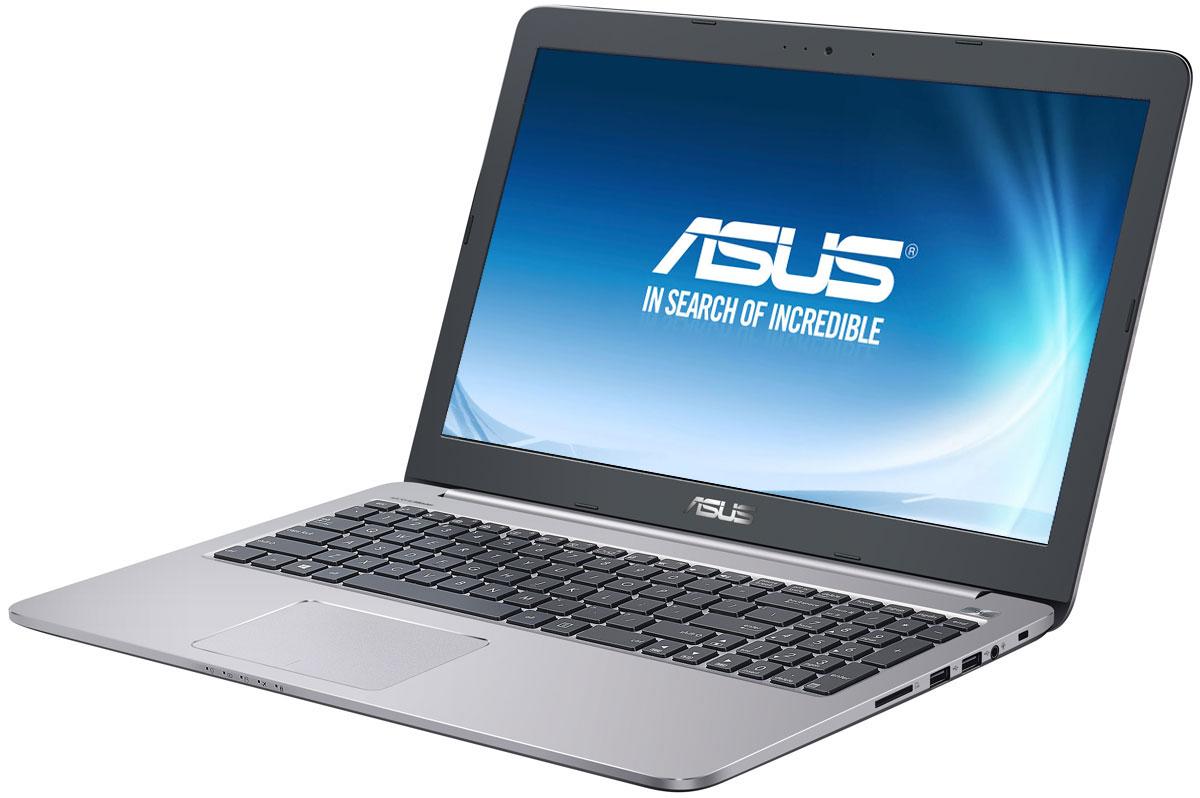 ASUS K501UQ-DM068D, Grey Metal (90NB0BP2-M01360)K501UQ-DM068DНадежный и комфортный в работе ноутбук ASUS K501UQ выполнен в современном корпусе с красивой отделкой. ASUS K501UQ отлично подходит и для работы с офисными программами, и для запуска мультимедийных приложений. В его аппаратную конфигурацию входят процессор Intel Core, современное графическое ядро и высокоскоростной интерфейс USB 3.0. Ноутбук гарантирует моментальный выход из режима сна и комфортную работу практически в любых приложениях. Интеллектуальная система двойного охлаждения вентилятора - это модернизированная интеллектуальная система охлаждения с двумя независимыми вентиляторами, обеспечивающими охлаждение процессора и GPU. Эта исключительная система система поддерживает необходимую температуру, чтобы предотвратить перегрев и обеспечить стабильность системы, работаете ли вы на ресурсоемких задачах или играете. ASUS IceCool обеспечивает температуру поверхности ноутбука между 28 и 35 градусами, что значительно ниже, чем...