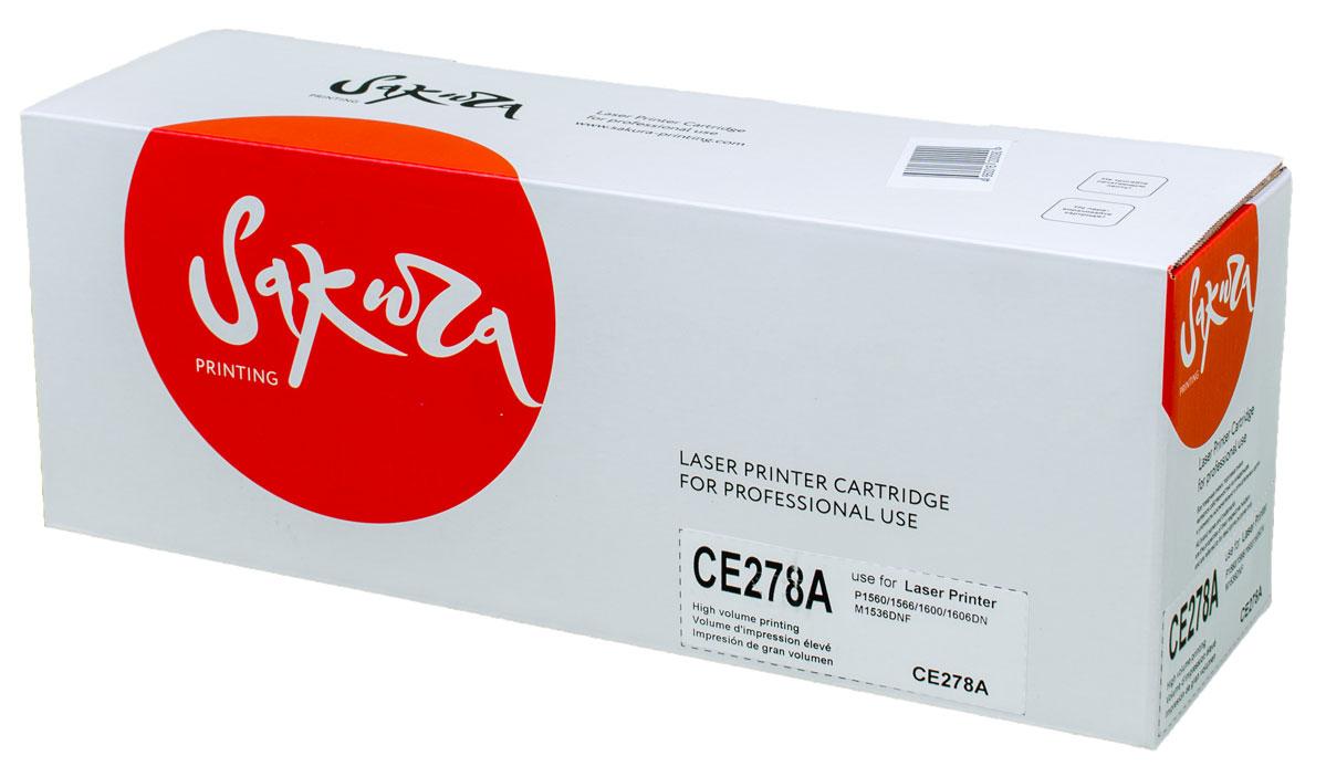 Sakura CE278A, Black тонер-картридж для HP laser Pro P1560/1636/1566/1600/1606SACE278AТонер-картридж Sakura CE278A для лазерных принтеров HP laser Pro P1560/1636/1566/1600/1606 является альтернативным решением для замены оригинальных картриджей. Он печатает с тем же качеством и имеет тот же ресурс, что и оригинальный картридж. В картриджах компании Sakura используется химический синтезированный тонер, который в отличие от дешевого тонера из перемолотого полимера, не царапает, а смазывает печатающий вал, что приводит к возможности многократных перезаправок картриджей. Такой подход гарантирует долгий срок службы принтера, превосходное качество и стабильность печати. Тонер-картриджи Sakura производятся при строгом соответствии стандартам ISO 9001 и ISO 14001, что подтверждено международными сертификатами.
