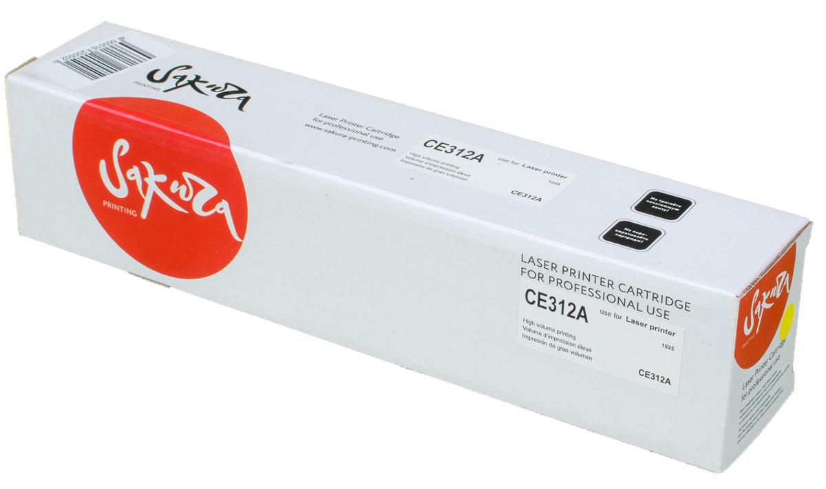 Sakura CE312A, Yellow тонер-картридж для HP LaserJet Pro CP1025/CP1025NWSACE312AТонер-картридж Sakura CE312A для лазерных принтеров HP LaserJet Pro CP1025/CP1025NW является альтернативным решением для замены оригинальных картриджей. Он печатает с тем же качеством и имеет тот же ресурс, что и оригинальный картридж. В картриджах компании Sakura используется химический синтезированный тонер, который в отличие от дешевого тонера из перемолотого полимера, не царапает, а смазывает печатающий вал, что приводит к возможности многократных перезаправок картриджей. Такой подход гарантирует долгий срок службы принтера, превосходное качество и стабильность печати. Тонер-картриджи Sakura производятся при строгом соответствии стандартам ISO 9001 и ISO 14001, что подтверждено международными сертификатами.