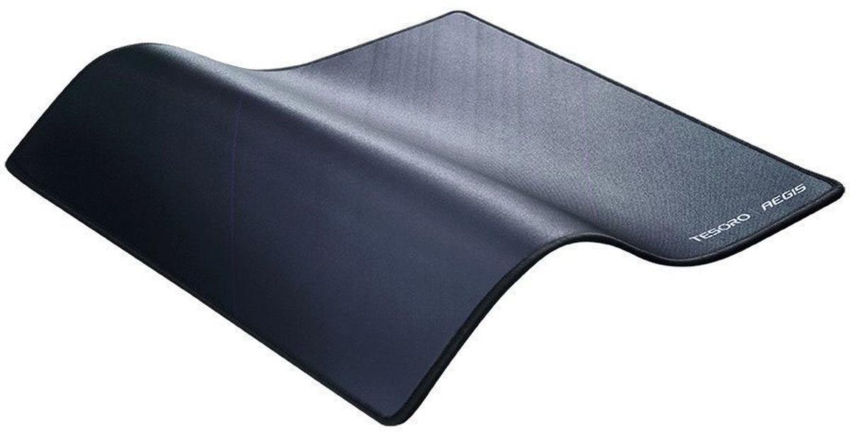 Tesoro Aegis X2, Black игровой коврик для мышиTS-X2Нескользящая прорезиненная основа Брызгозащещенный Поверхность SPEED