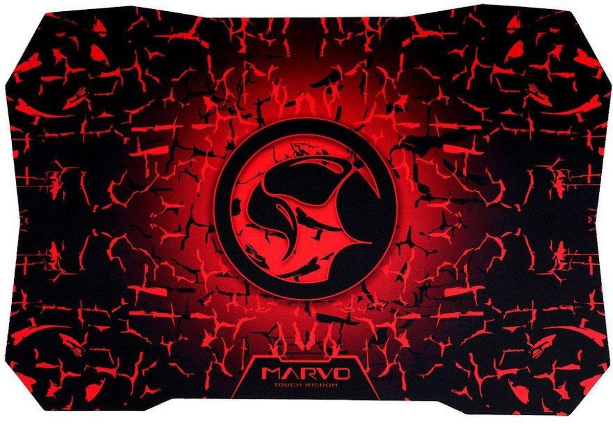 Marvo G2, Black Red игровой коврик для мышиG2
