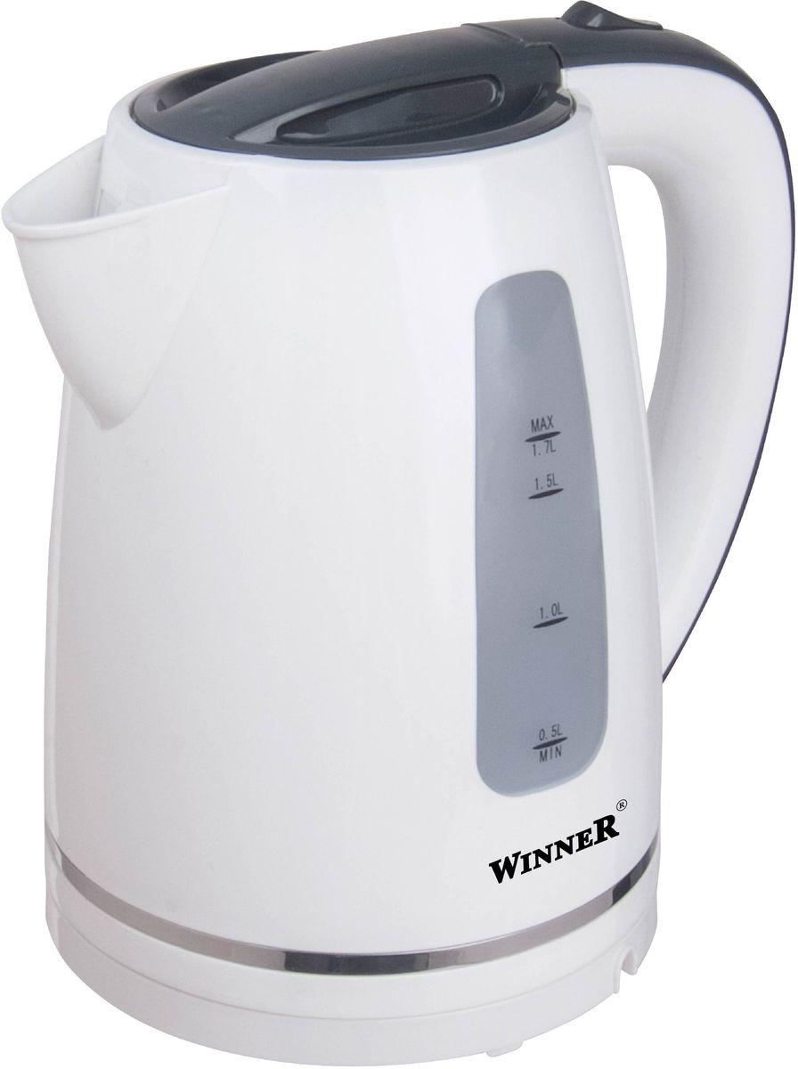 Winner WR-122, White электрический чайникWR-122