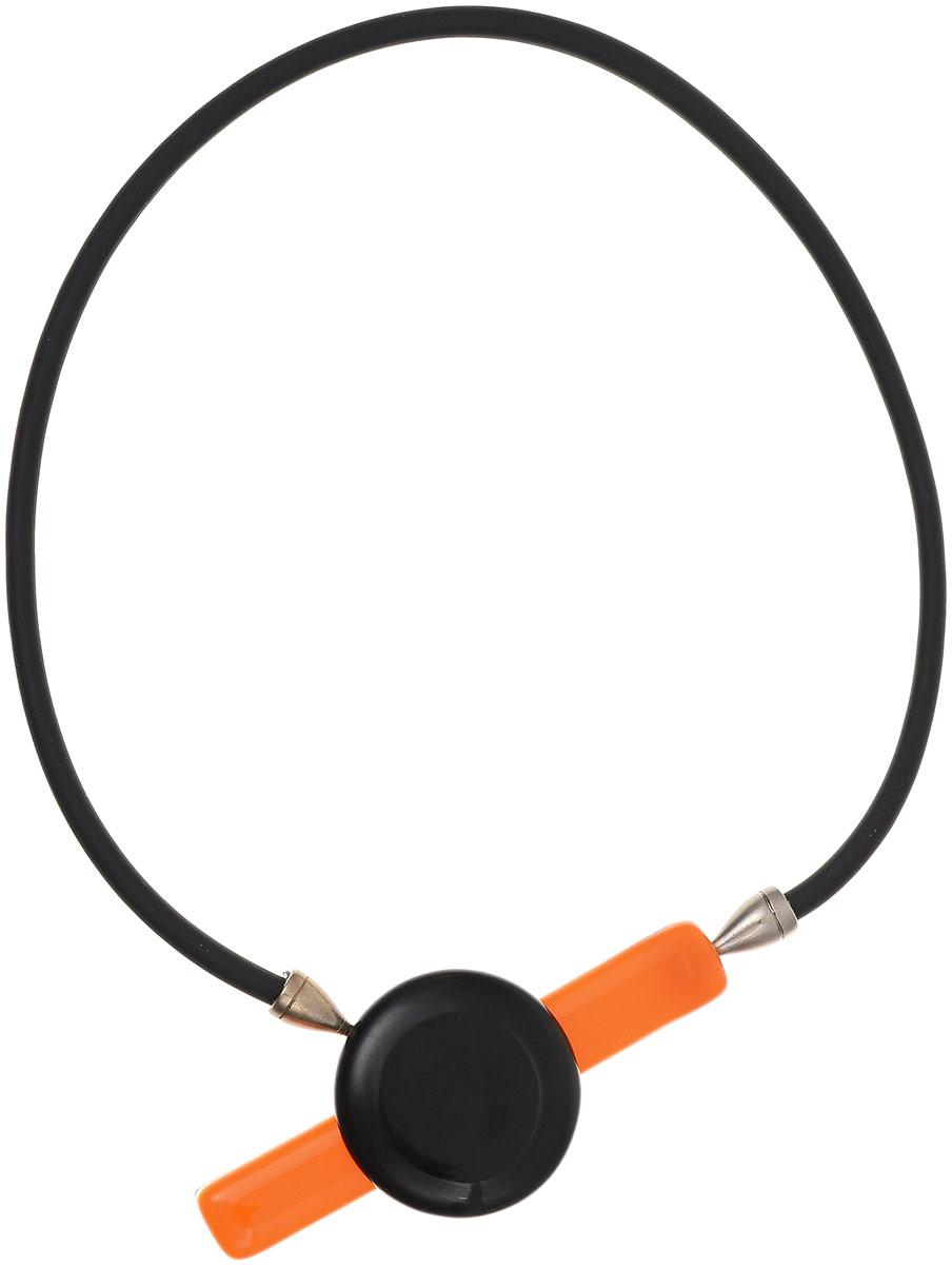 Колье Дебрейн. Муранское стекло, каучук, магнит, ручная работа. Murano, Италия (Венеция)10102551Колье Дебрейн. Муранское стекло, каучук, магнит, ручная работа. Murano, Италия (Венеция). Размер: полная длина 45 см. Каждое изделие из муранского стекла уникально и может незначительно отличаться от того, что вы видите на фотографии.