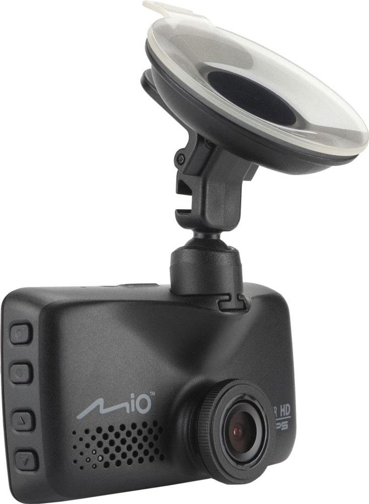 Mio Mivue 618, Black видеорегистраторMivue 618В модели Mivue 618 основной акцент Mio сделали на качестве и четкости изображения. Для этого в устройстве увеличен размер матрицы и установлена новая светосильная оптика. А объектив оснащён не только стеклянными линзами , но и инфракрасным фильтром, благодаря чему видео становится более естественным. Наличие GPS-приемника, позволяет реализовать функцию умного оповещения о стационарных камерах контроля скорости. Широкий угол обзора 140° позволяет получить полную картину всегда и везде. Ручная установка экспозиции видеорегистратора позволяет в сложных условиях освещённости, таких как снегопад или яркие солнечные лучи, регулировать яркость видео. Передовая оптическая система состоит из 5 высококачественных стеклянных линз и инфракрасного фильтра. Они пропускают больше света и создают более яркую и чёткую картинку. Апертура f/2.0 обеспечивает контрастное и яркое отображение даже при плохом освещении. Чтобы не отвлекать вас во время...