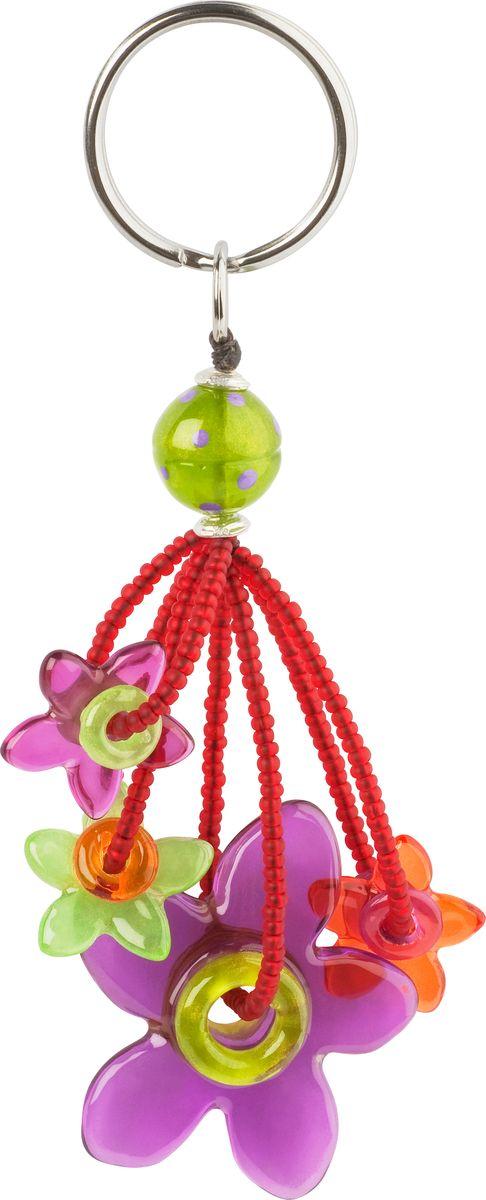 Брелок Lalo Treasures, цвет: сиреневый, зеленый. KR4866
