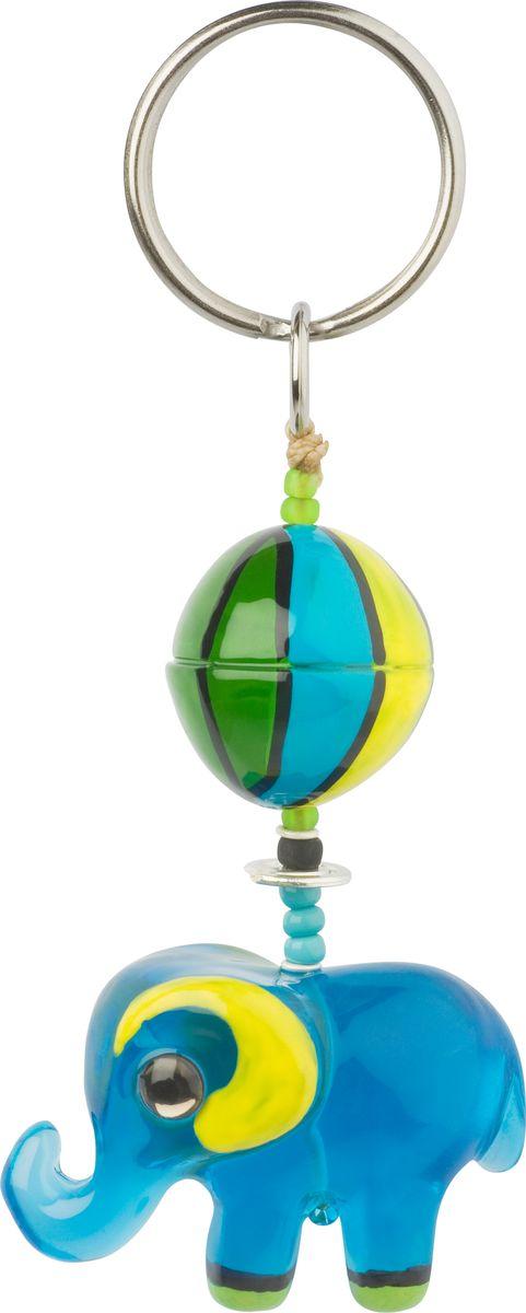 Брелок Lalo Treasures, цвет: голубой. KR4900KR4900Яркие дизайнерские акссесуары от Lalo Treasures станут отличным дополнением к Вашему стилю