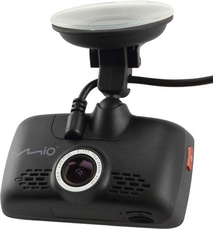 Mio Mivue 668, Black видеорегистраторMiVue 668Mio Mivue 668 записывает качественное видео в высоком разрешении 2304х1296 точек с охватом всех необходимых подробностей. Широкий угол обзора 150° позволяет получить полную картину всегда и везде. Ручная установка экспозиции видеорегистратора позволяет в сложных условиях освещённости, таких как снегопад или яркие солнечные лучи, регулировать яркость видео. Передовая оптическая система состоит из 6 высококачественных стеклянных линз и инфракрасного фильтра. Они пропускают больше света и создают более яркую и чёткую картинку. Поворотный механизм крепления позволяет развернуть устройство на 360° и записать все интересующие моменты, а удобная система фиксации кабеля в креплении позволит снять устройство без особых помех. Устройство оснащено двумя слотами под карты памяти, что позволит вам в случае необходимости скопировать файлы на дополнительную карту. Чтобы не отвлекать вас во время вождения, на дисплее будет указана текущая...