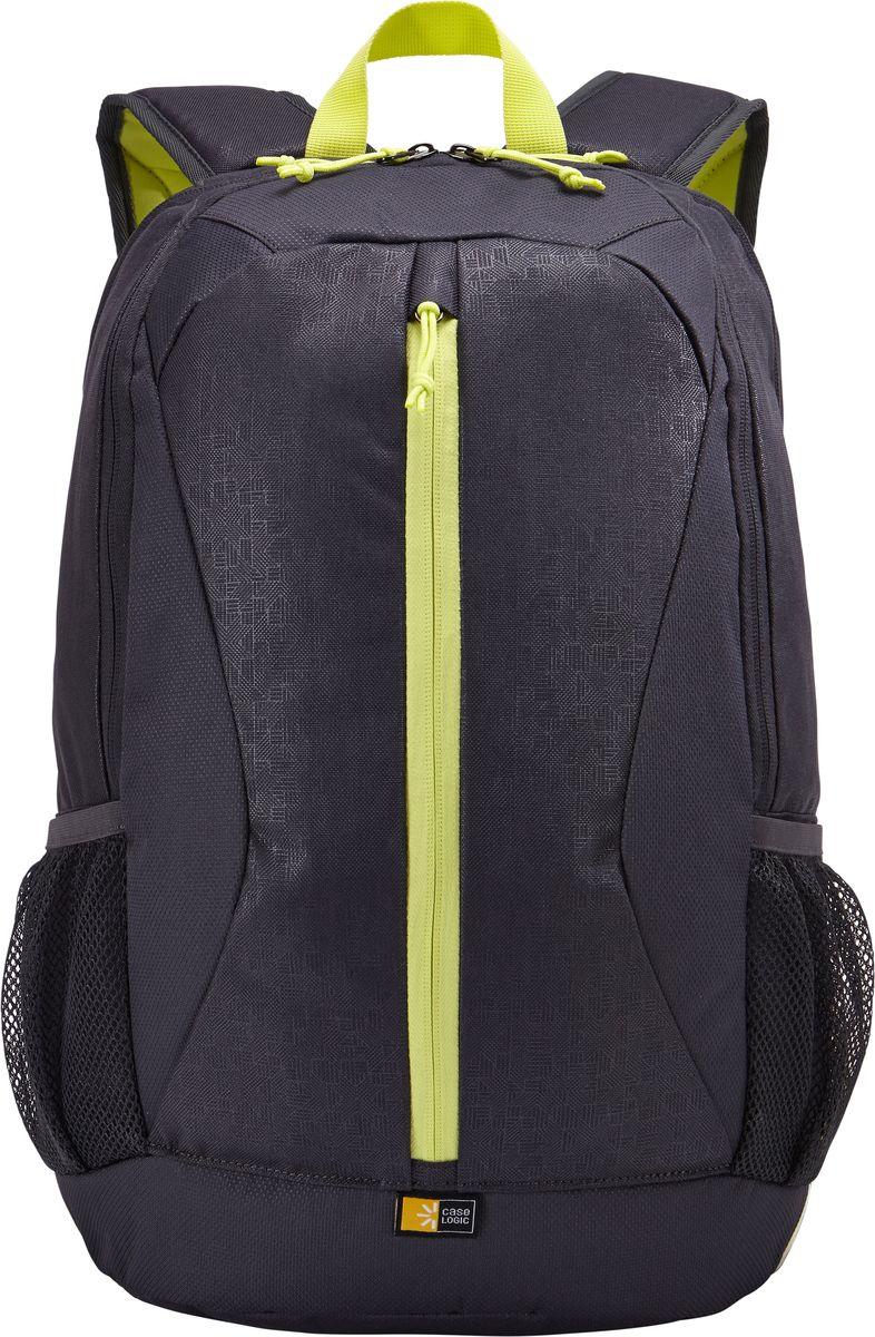 Case Logic IBIR-115, Anthracite рюкзак для ноутбука 15.6IBIR-115_ANTHRACITEЭтот рюкзак с яркими цветовыми акцентами и гибкой системой хранения поможет оставаться на связи во время повседневных дел. Вшитый отдел для ноутбука до 15.6 и карман для iPad или планшета 10.1. Отдел для ноутбука также можно использовать для хранения обуви или одежды отдельно от других вещей. Потайной карман на задней панели для безопасного хранения денег и документов. Дополнительный отсек для кабелей и небольших электронных устройств. Вертикальные карманы специально предназначены для удобного хранения необходимых в пути вещей. Сетчатые боковые карманы для бутылки с водой.