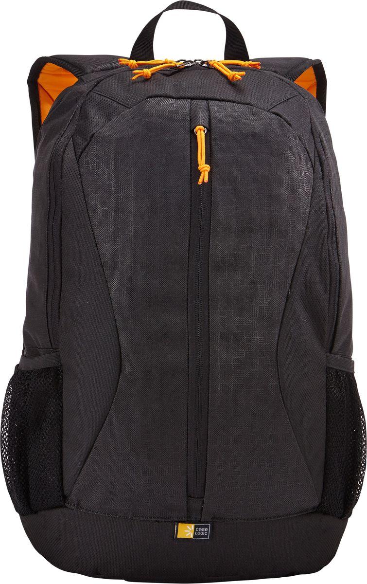 Case Logic IBIR-115, Black рюкзак для ноутбука 15.6IBIR-115_BLACKЭтот рюкзак с яркими цветовыми акцентами и гибкой системой хранения поможет оставаться на связи во время повседневных дел. Вшитый отдел для ноутбука до 15.6 и карман для iPad или планшета 10.1. Отдел для ноутбука также можно использовать для хранения обуви или одежды отдельно от других вещей. Потайной карман на задней панели для безопасного хранения денег и документов. Дополнительный отсек для кабелей и небольших электронных устройств. Вертикальные карманы специально предназначены для удобного хранения необходимых в пути вещей. Сетчатые боковые карманы для бутылки с водой.