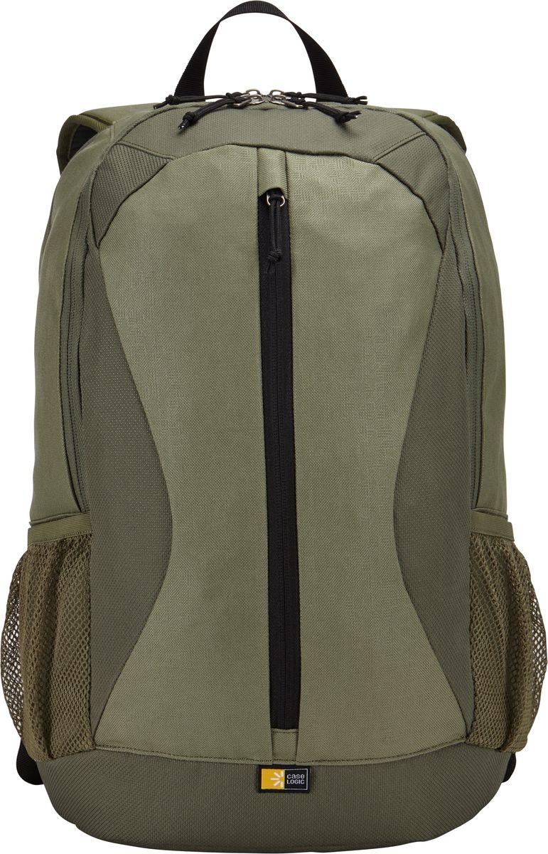 Case Logic Ibira, Petrol рюкзак для ноутбука 15.6IBIR-115_PETROLCase Logic Ibira - стильный, вместительный рюкзак с гибкой системой хранения поможет оставаться на связи, занимаясь повседневными делами. Имеет вшитый карман для ноутбука до 15.6 и карман для iPad или планшета размером 10.1. Карман для ноутбука можно использовать для хранения обуви или одежды отдельно от других вещей. На задней панели предусмотрен потайной карман для безопасного хранения денег и документов. Оснащен дополнительным отсеком для кабелей и небольших электронных устройств. Для удобного хранения необходимых в пути вещей предусмотрены вертикальные карманы. Сетчатые боковые карманы позволяют взять в дорогу бутылку с водой. Широкие, мягкие лямки обеспечивают комфортное распределение нагрузки рюкзака. Подходит для устройств размером 38,6 см х 26,7 см x 30 см Объем: 24 л