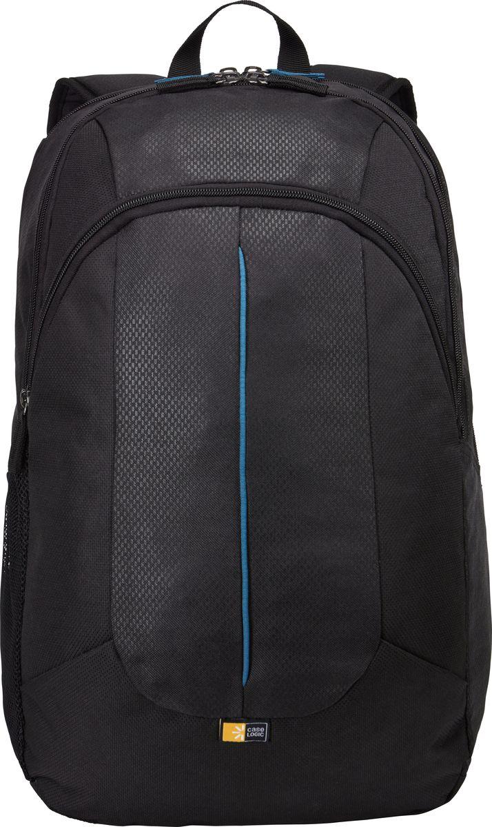 Case Logic Prevailer, Black рюкзак для ноутбука 17.3PREV-217_BLACKMIDNIGHTБлагодаря эффектному рельефному узору и сочным цветовым акцентам рюкзак Prevailer с уплотненным отделением для ноутбука или планшета совсем не похож на скучную сумку для поездок на работу. Специальный отсек для ноутбука с диагональю экрана до 17,3 Вшитый карман для планшетов с экраном до 10,1 Просторное основное отделение для хранения больших наушников, книг, папок с документами или сменной одежды Потайной карман на задней панели для сохранности денег, ключей и документов Удобная панель-органайзер для портативной электроники, ручек и других аксессуаров В высоком внутреннем кармане удобно хранить предметы, которые должны быть всегда под рукой Уплотненное основание сумки дополнительно защищает вещи от повреждений Боковой карман для переноски бутылки с водой Объем: 34 л Подходит для устройств размером 41,7 см х 30 см x 2,9 см