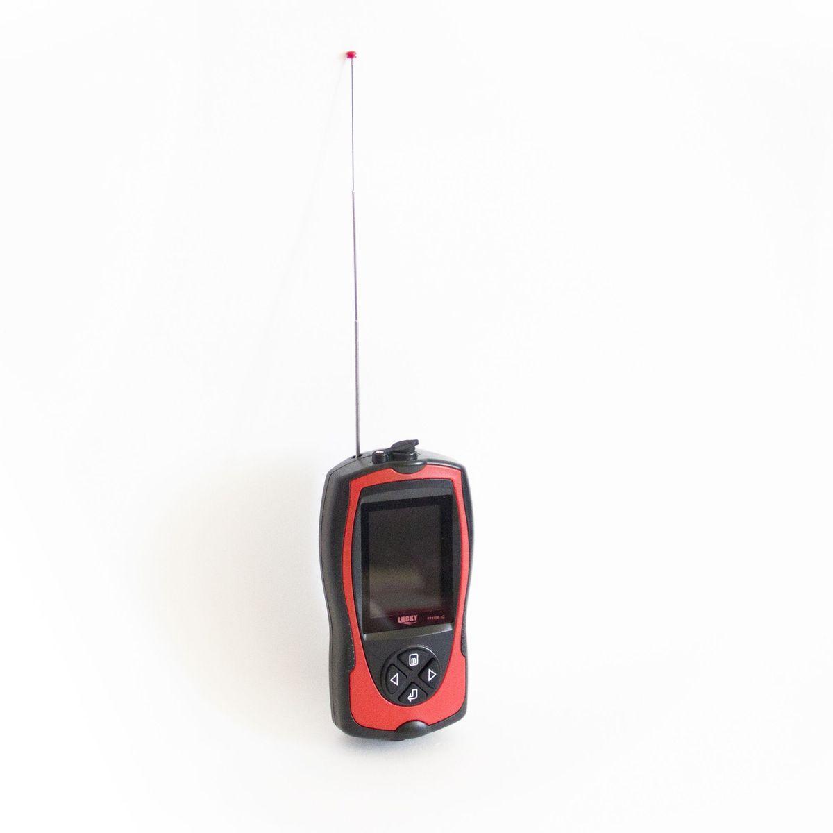 Эхолот рыбопоисковый Lucky, с цветным дисплеем и радиодатчиком, цвет: черный. FFW1108-1СFFW1108-1CВодонепроницаемый корпус Цветной ЖК-дисплей Отображения дна, контур. Установка чувствительности, звуковой сигнал рыбы и глубины Радиус действия беспроводного датчика до 150 метров Беспроводной датчик угол луча 90-градусов Отображение температуры воды и индикатора заряда батареи. По выбору пользователя метр или фут. Элемент питания беспроводного датчика CR 2032, сменный. Глубина сканирования : 120 футов / 40 метров (преобразователь беспроводной в режиме 125 кГц) Комплект поставки: Профессиональный эхолот Беспроводной Датчик Адаптер питания Батарея/СR-2032 Шейный ремень Инструкция по эксплуатации Подключение проводного датчика не возможно.