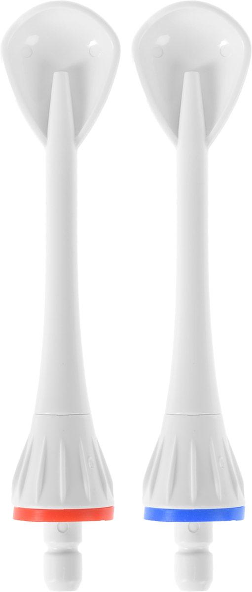 B.Well Насадки для ирригатора WI-911 Для чистки языка NZ911-3NZ911-3Насадки для ирригатора B.Well WI-911 подходят для каждодневной чистки языка. Они удаляют бактериальный налет и освежают дыхание. Насадка устанавливается в соответствующее углубление основного блока ирригатора. Для извлечения насадки нажмите на кнопку извлечения насадки и потяните ее вверх. Рекомендуется заменять каждые 6 месяцев. В комплект входят 2 насадки для чистки языка.