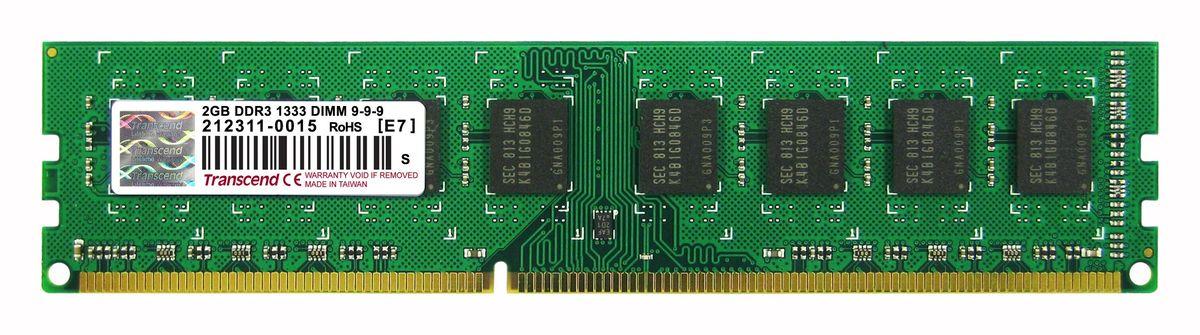 Transcend DDR3 DIMM 2GB 1333МГц модуль оперативной памятиTS256MLK64V3UМодуль памяти Transcend DDR3 DIMM 2GB построены с использованием чипов наивысшего качества DRAM от известных брендов и проходят тщательные испытания, чтобы гарантировать соответствие строгим требованиям Transcend к общему качеству и производительности. Небуферизованные модули DIMM Transcend DDR3 являются наиболее стабильными и надежными в отрасли, что также делает их экономичным решением для всех настольных компьютеров. Количество ранков: 2