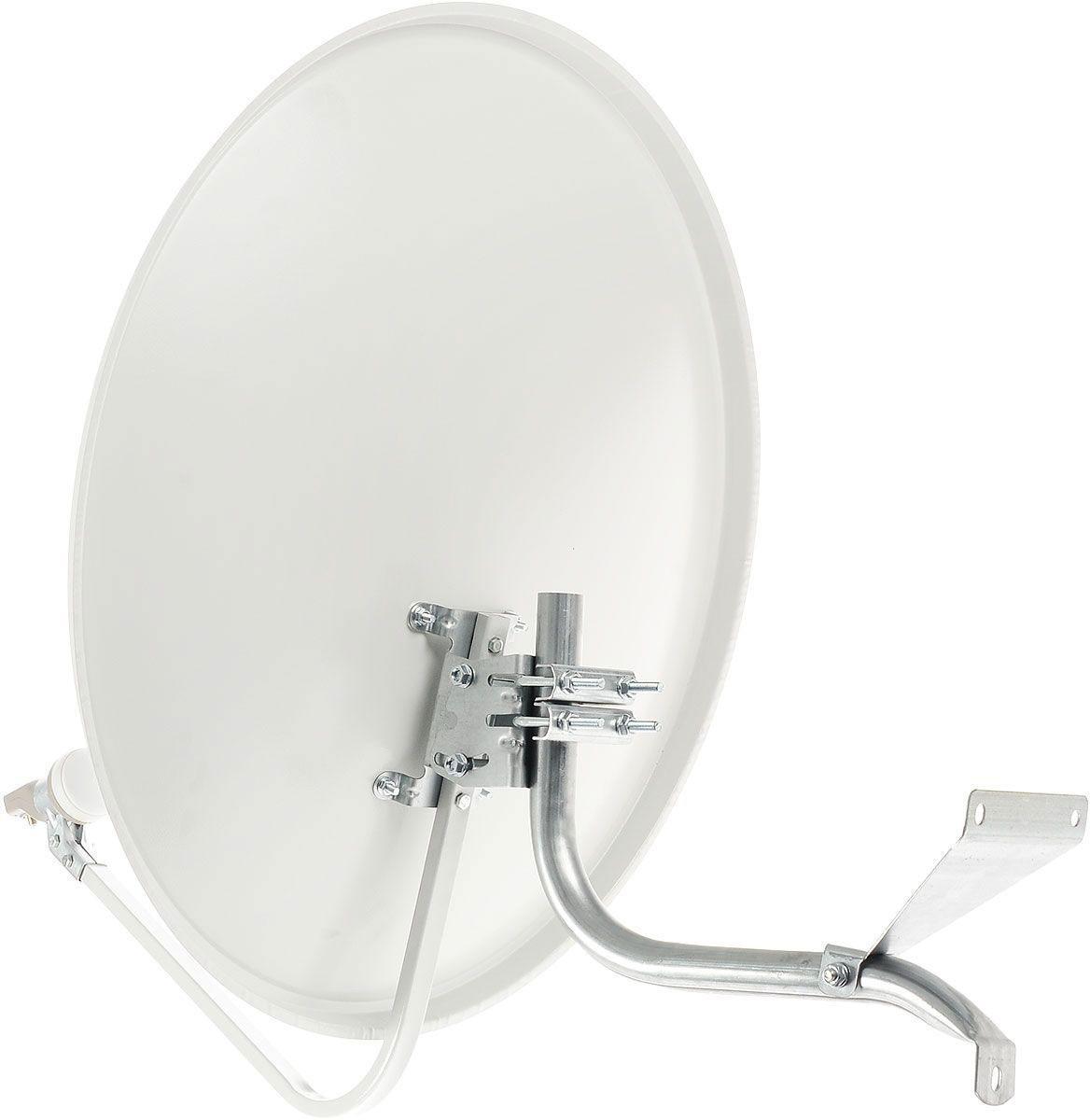 МТС комплект спутникового ТВ № 1714630003205032Комплект включает в себя все необходимое для подключения Спутникового ТВ МТС и полноценного использования всех функций настоящего спутникового ТВ. Смотрите более 128 интересных и популярных телеканалов в отличном качестве, включая 32 HD-каналов. Комплект Спутникового ТВ включает в себя: Антенну с установочным комплектом (кронштейн крепления антенны, комплект крепежа к кронштейну, кронштейн крепления конвертера) Конвертер Кабель коаксиальный + 2 F-разъема ТВ-приставку с функцией UHD (EKT DSD 4404) Пульт ДУ Справочник абонента SMART-карту МТС Услуга на год ТВ-пакет Базовый