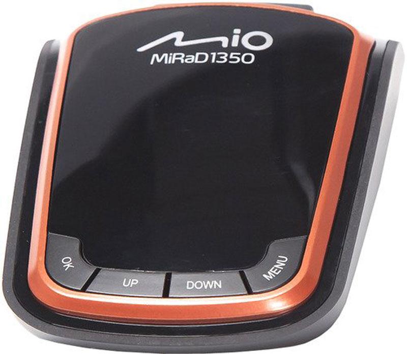 Mio MiRad 1350, Black радар-детекторMiRad 1350Радар-детектор Mio MiRaD 1350 - это устройство, которое заблаговременно предупреждает о приближении к радарам различных частотных диапазонов. Радар-детектор MiRaD 1350 станет бдительным попутчиком, как на шумных улицах мегаполисов, так и на высокоскоростных загородных трассах. Возможность максимально эффективного приёма частот в диапазонах X, K, Ka, Ku, L, несмотря на компактные размеры устройства Предупреждение Smart Mute позволяет настроить значение скорости, до достижения которой, не будут подаваться звуковые сигналы об обнаруженных радарах, будет осуществляться только визуальное предупреждение. Функция Автоприглушения: через 5 секунд после распознавания радара уведомления становятся в два раза тише. Режимы Город/Трасса позволяют менять чувствительность принятия сигнала у радар-детекторов в зависимости от типа трассы Обнаружение комплекса Автодория возможно при помощи того, что высокочувствительный GPS-приемник в ...
