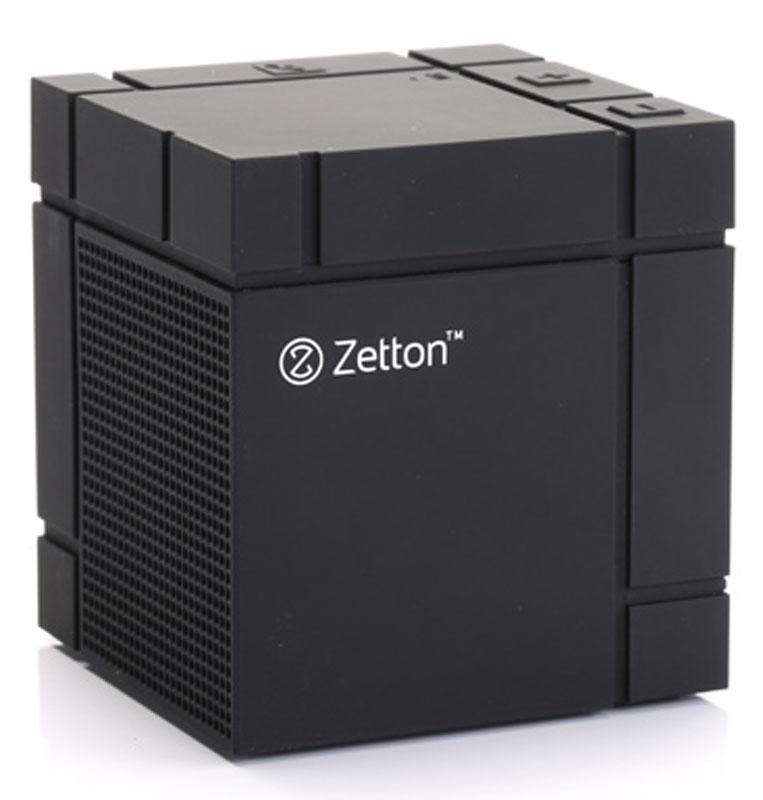 Zetton Large Cube Soft Touch, Black Bluetooth-колонка (ZTBSBCUBFB)ZTBSBCUBFBМиниатюрная Bluetooth-колонка Zetton Large Cube Soft Touch станет отличным выбором для ценителей необычного дизайна и широкой функциональности. Слушайте любимую музыку и принимайте телефонные звонки в течении почти 6 часов на одной подзарядке, подключайтесь к любому плееру через AUX-разъем или Bluetooth и наслаждайтесь абсолютной легкостью и мобильностью.