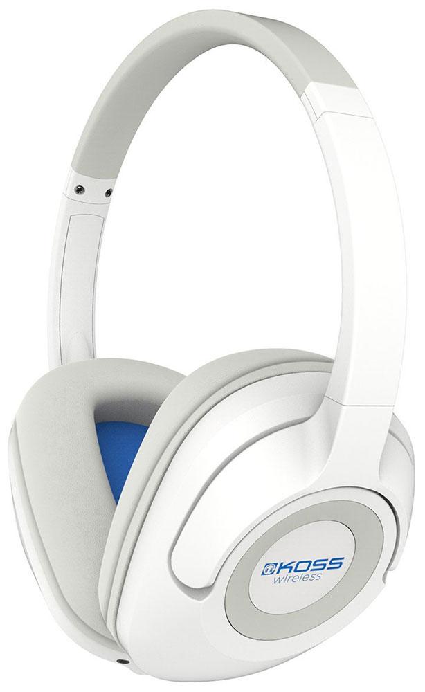 Koss BT539iW, White наушники15118904Koss BT539i - полноразмерные наушники с возможностью беспроводной передачи аудиосигнала по Bluetooth-соединению. Модель имеет съёмный кабель, позволяющий использовать её и без Bluetooth. Наушники отличаются комфортной посадкой за счет удобного армированного оголовья и амбушюр D-профиля, используемого и в других моделях Koss. Ещё один важный момент: Koss BT539i - не просто наушники, а гарнитура. На съёмном кабеле микрофона нет, он находится на правой чаше. Также здесь расположены органы управления воспроизведением и регулятор громкости. Встроенный аккумулятор, зарядка по USB-кабелю Встроенный микрофон для разговора Армированное оголовье Съемный шнур Глубокие басы, четкая звукопередача Премиальные плотно прилегающие комфортные амбушюры