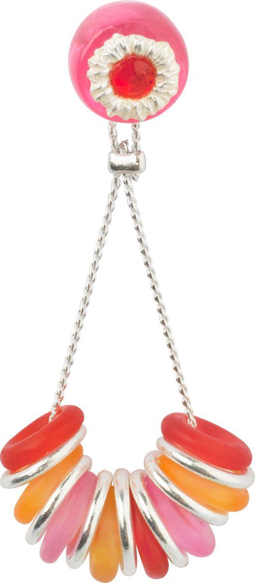 Серьги Lalo Treasures, цвет: розовый. E3468/3E3468/3Оригинальные серьги Lalo Treasures изготовлены из металлического сплава, дополнены декоративными элементами из ювелирной смолы. Изделие застегивается на замок-гвоздик, который надежно зафиксирует серьги. Стильные серьги оформлены нежной подвеской с круглыми колечками на на цепочке, они не оставят равнодушной ни одну любительницу изысканных украшений и помогут создать собственный неповторимый образ.