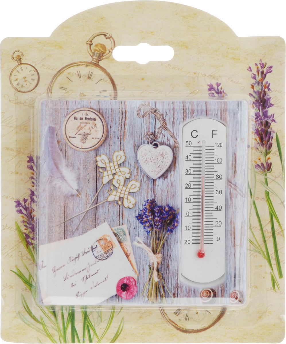 Термометр декоративный Magic Home, 10 х 10 см. 4340743407Комнатный термометр Magic Home, изготовленный из фаянса, декорирован оригинальным изображением. Термометр имеет шкалу измерения температуры по Цельсию (-20°С - +50°С) и по Фаренгейту (-0°F - +120°F). Благодаря такому термометру вы всегда будете точно знать, насколько тепло в помещении. Изделие оснащено специальной петелькой для подвешивания и ножкой для расположения на столе. Оригинальный дизайн не оставит равнодушным никого. Термометр удачно впишется в обстановку жилого помещения.