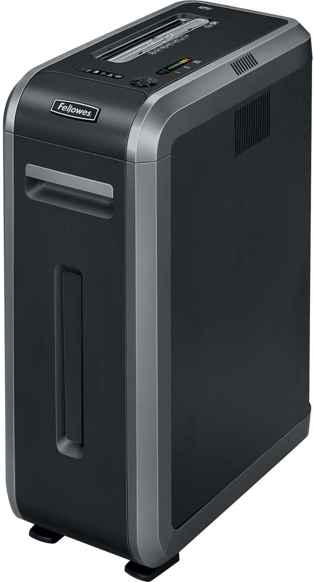 Fellowes Powershred 125I, Black шредерFS-46130Powershred125i – высокотехнологичный шредер для использования в среднем офисе с увеличенным времени рабочего цикла 45 мин. Рекомендуемая нагрузка до 3000 листов в день. Производительность – 18 листов. Продольная резка на полосы шириной 5,8мм соответствуют P-2 уровню секретности по DIN 66399. Высокопроизводительный шредер сосредоточил в себе все самые современные технологии уничтожения документов, повышающие безопасность и облегчающие работу с уничтожителем.