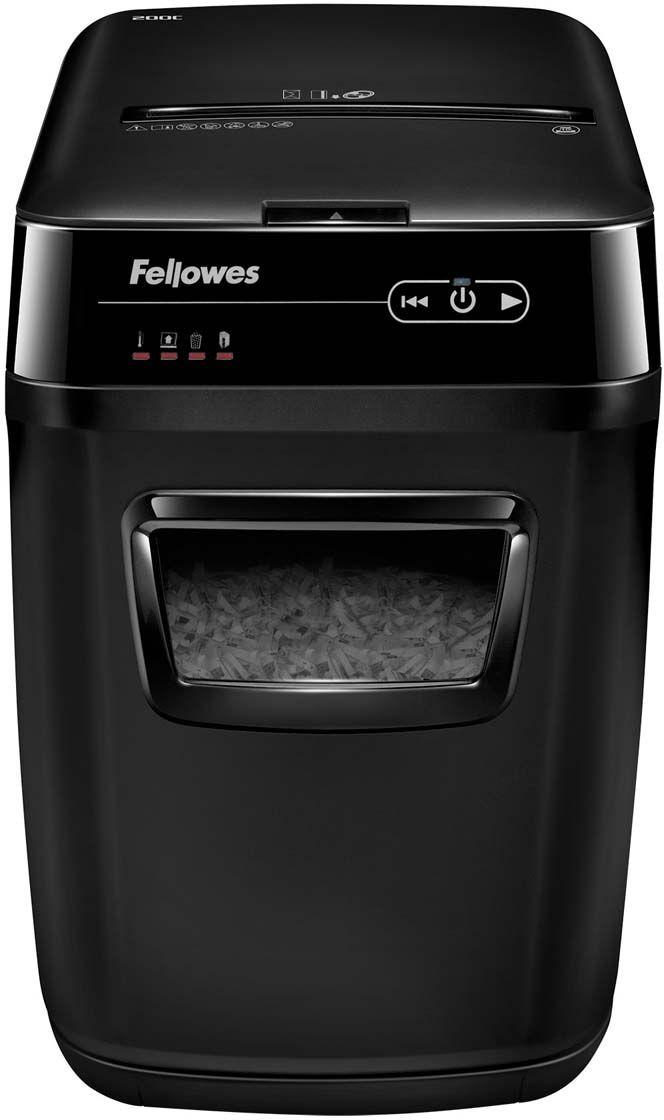 Fellowes AutoMax 200C, Black шредер FS-46536