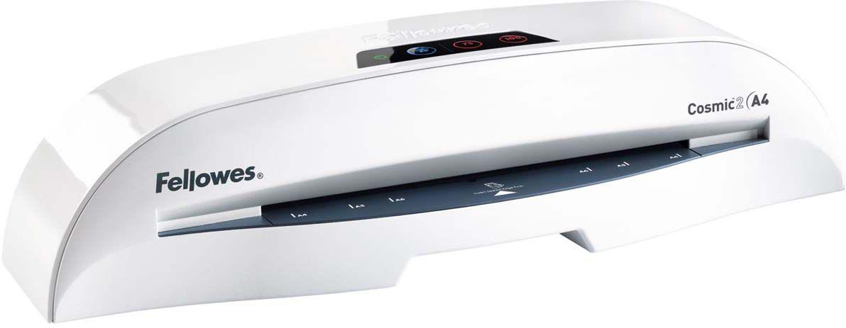 Fellowes Cosmic 2 A4 ламинаторFS-57250Cosmic 2 A4 –надежный ламинатор для малого или домашнего офиса. Ламинатор имеет 2 горячих режима 75 и 100 мкм (75 и 125 мкм после модернизации в 2015г.) Ламинатор после модернизации позволяет ламинировать пленку 100 мкм с приемлемым качеством при использовании режима 125 мкм. Максимальный формат документа – А4. Рычаг освобождения поможет изъять неправильно поданный документ. Корпус ламинатора не перегревается и безопасен при прикосновении. Ламинатор Cosmic 2 A4 позволяет надежно заламинировать документы, презентационные и рекламные материалы, фотографии, грамоты, рисунки, открытки, визитки, инструкции и многое другое. Стартовый набор включает пленку для ламинирования 10 документов. Основные характеристики: Диапазон плёнок 75 – 100 мкм (75– 125 мкм после модернизации в 2015г) Скорость ламинирования - 30 см /мин Время нагрева - 5 мин Гарантия 2 года Технологии: Heat Guard Запатентованная технология безопасности, уменьшает температуру корпуса на 50% и гарантирует полную...
