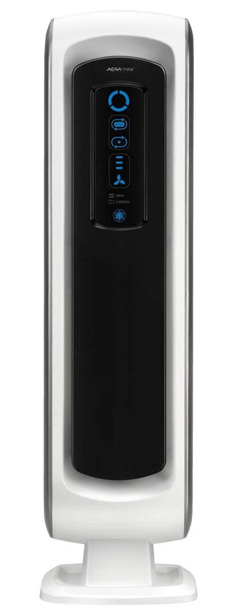 Fellowes Aeramax DX5 воздухоочистительFS-93928Воздухоочиститель Fellowes AeraMax DX5 (fs-93928) предназначен для эффективной очистки воздуха в помещении площадью до 8м2. Воздух проходит 4 степени очистки, что позволяет значительно улучшить качество воздуха внутри помещений, удалив 99.97% загрязняющих частиц. Угольный фильтр удаляет запахи, химические загрязнения и крупные частицы, переносимые по воздуху. True HEPA фильтр задерживает 99.97% частиц размером от 0.3 микрон, включая споры плесени, пыльцу растений, пылевых клещей, большинство бактерий, аллергенов и сигаретный дым. Антибактериальная обработка AeraSafe™– встроенная защита от роста бактерий, вызывающих неприятный запах, плесени и грибков на фильтре True HEPA. Технология PlasmaTRUE™ безопасно удаляет содержащиеся в воздухе загрязняющие вещества, мгновенно нейтрализуя вирусы и микробы. Воздухоочиститель прост в работе и обладает удобным пользовательским интерфейсом. В режиме работы АВТО, датчики оценивают изменения качества воздуха в помещении, на основании чего...