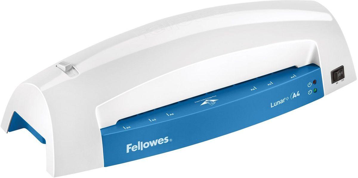 Fellowes Lunar+ A4, Grey Blue ламинаторFS-57428Lunar A4+ – ламинатор начального уровня для домашнего офиса и использования время от времени. Ламинатор Lunar A4 предназначен для работы с пленкой 75/80/125 мкм