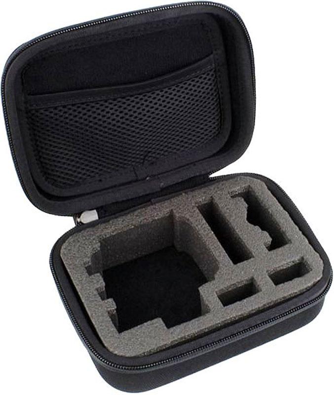 Eken GP83 кейс для экшн-камеры GoPro, EkenGP83Кейс Eken GP83 предназначен для транспортировки экшн-камеры GoPro или Eken. В нем предусмотрено место как для самой экшн-камеры, так и для аксессуаров, которые могут понадобиться ее владельцу во время съемки: флешек, креплений и так далее. Благодаря лаконичному дизайну кейс хорошо сочетается с различными стилями одежды. Он выполнен из прочного практичного материала и благодаря продуманной конструкции эффективно защищает камеру и аксессуары от влаги и ударов.