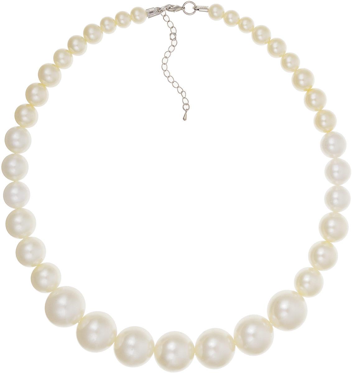 Ожерелье Art-Silver, цвет: белый. 23117-29223117-292Ожерелье Art-Silver выполнено из жемчуга разных разного размера. Модель застегивается на карабин и регулируется по длине.