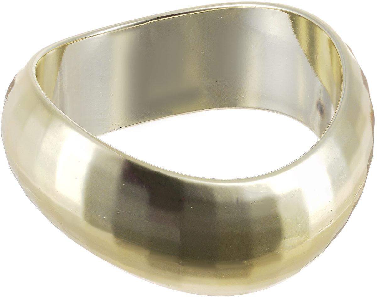 Браслет женский Art-Silver, цвет: золотой. 10928-1-19610928-1-196Браслет Art-Silver выполнен из полимера и бижутерного сплава. Модель без застежки.