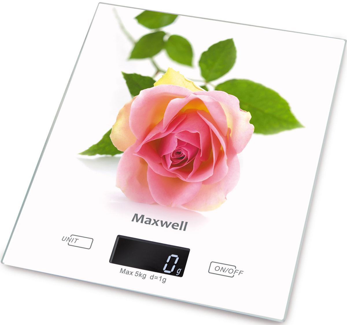 Maxwell MW-1476(W) весы кухонныеMW-1476(W)Кухонные электронные весы Maxwell MW-1476(W) - незаменимые помощники современной хозяйки. Они помогут точно взвесить любые продукты и ингредиенты. Кроме того, позволят людям, соблюдающим диету, контролировать количество съедаемой пищи и размеры порций. Предназначены для взвешивания продуктов с точностью измерения 1 грамм. Размер весов: 20 см х 18 см Размер дисплея: 4,58 см х 1,7 см