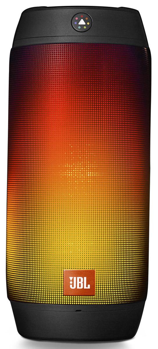 JBL Pulse 2, Black портативная акустическая система6925281908279Оживите свою музыку посредством разноцветных огней, чтобы устроить веселую вечеринку там, где вы находитесь. Параметрами системы светомузыки в Pulse 2 можно полностью управлять через специальный датчик цвета JBL Prism. Наведите датчик на нужный цвет, активируйте его и наблюдайте за тем, как Pulse 2 усиливает окружающие краски. Система защиты от брызг позволяет безопасно установить Pulse 2 в любом месте, которое вы хотите расшевелить с помощью высококачественного стереозвука, который может звучать до 10 часов благодаря перезаряжаемому литий-ионному аккумулятору емкостью 6000 мА*ч. JBL Pulse 2 также оснащен функцией спикерфона с шумоподавлением и эхокомпенсацией, обеспечивающими безупречно четкую телефонную связь, а также технологией JBL Connect, которая позволяет объединять несколько поддерживающих JBL Connect колонок в беспроводную сеть, сделав впечатления от музыки более яркими. А с помощью приложения для телефона JBL Connect настроить параметры светомузыки и функции JBL Connect...