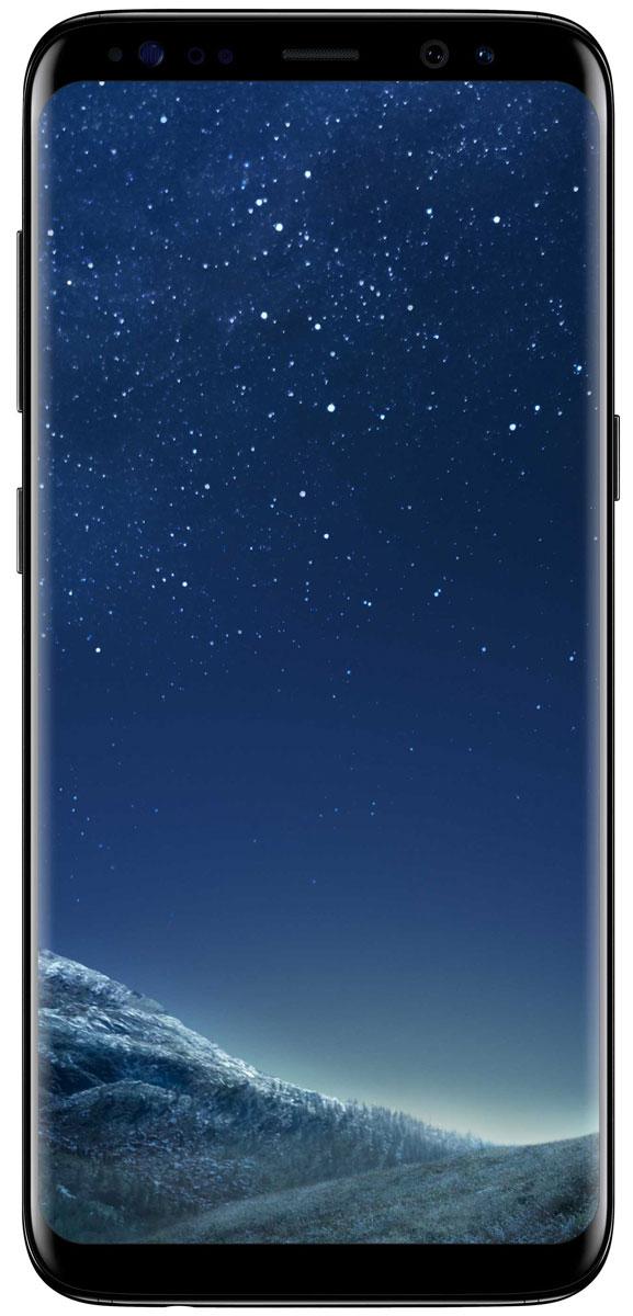 Samsung Galaxy S8 SM-G950, BlackSM-G950FZKDSERSamsung Galaxy S8 переворачивает представление о классическом дизайне смартфона. Безграничный изогнутый с двух сторон экран подчеркивает гармонию стиля и инноваций. Главная особенность дизайна - это практически полное отсутствие боковых рамок и закругленные края экрана. Какую бы из диагоналей 5,8 или 6,2 вы не выбрали - благодаря симметричному дизайну и эргономике им будет удобно пользоваться даже одной рукой. Увеличенный экран Samsung Galaxy S8 идеально подходит для многозадачности. Переписывайтесь с друзьями, не отрываясь от просмотра любимого фильма. Все что нужно - просто открыть чат в режиме многозадачности. Кнопки Домой, Назад и Недавние приложения теперь виртуальные и перенесены на экран. При нажатии они откликаются аналогично классическим, однако имеют более расширенный функционал. Теперь иконки имеют логическую цветовую окраску, так что вы можете идентифицировать приложение в одно мгновение. Цвета и линии...