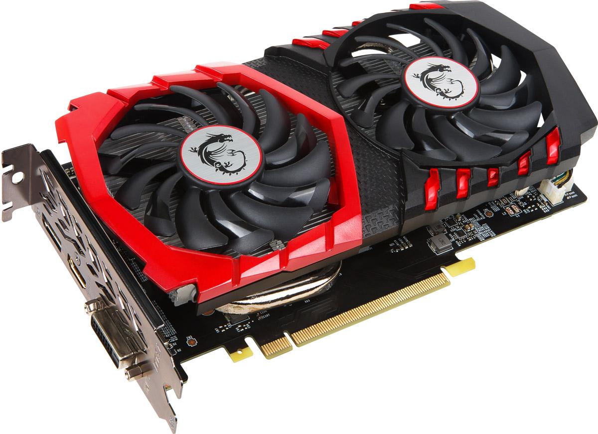 MSI GeForce GTX 1050 Ti Gaming X 4Gb видеокарта (GTX 1050 Ti Gaming X 4G)