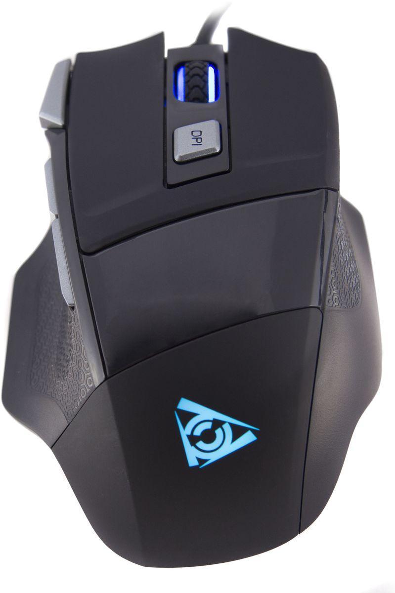Qcyber Cane игровая лазерная мышьQC-02-005DV01Qcyber Cane, игровая лазерная мышь 3500 DPI, 7 программируемых кнопок, USB2.0, подсветка.