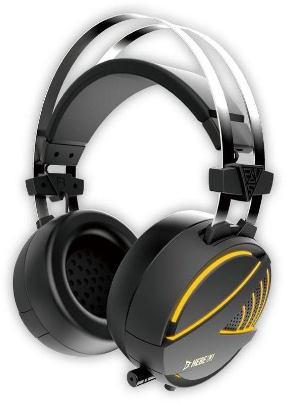 Gamdias Hebe 7.1 Vibro RGB игровые наушникиHEBE M1 7.1RGB Подсветка. Звук вирутальный 7.1. Уникальная функция объемной вибрации. Диаметр динамика 50 мм. Чувствительность 116 dB + / - 3 dB. Сопротивление 32 Ом. Чувствительность микрофона 58 + / - 3 dB. Материал корпуса пластик. Материал амбушюр кожа. Интерфейс USB и 3.5 мм коннектор микрофон/аудио Кабель 1.9 м. Размеры микрофона 6,0 х 5,0 мм.