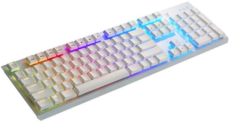 Tesoro Gram Spectrum (Cherry MX Red), White игровая клавиатура