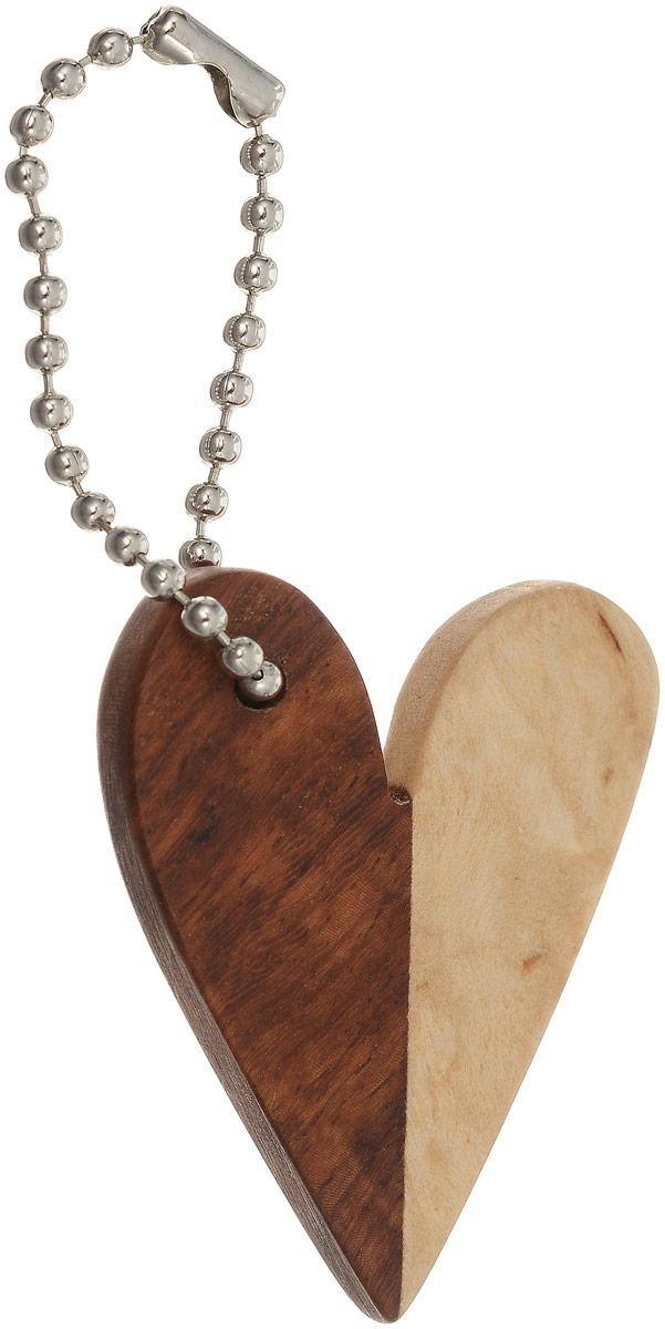 Брелок Сердце, 4 х 3 см. Ручная работа. Автор Дмитрий Шульц