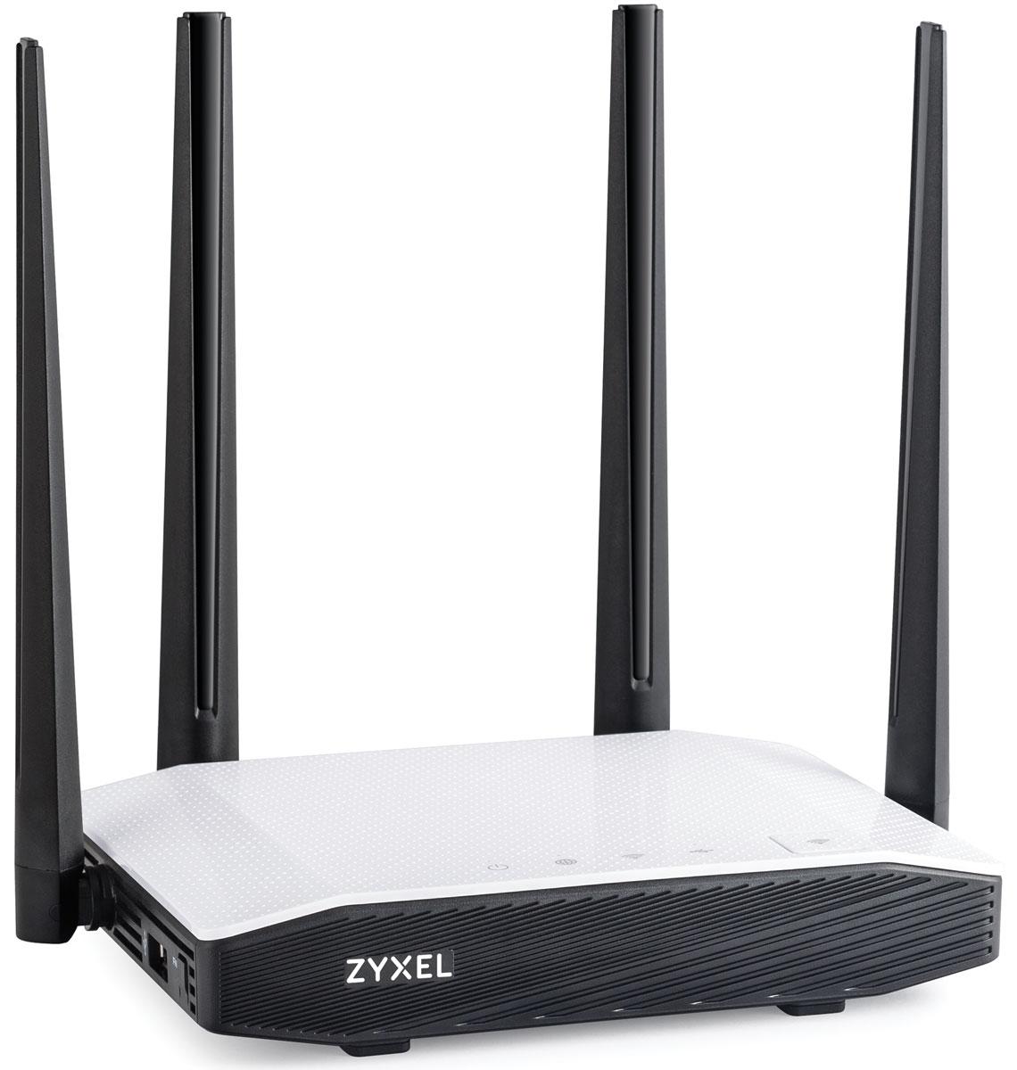 Zyxel Keenetic Extra II интернет-центрKEENETIC EXTRA IIИнтернет-центр Zyxel Keenetic Extra II для выделенной линии Ethernet с точкой доступа Wi-Fi AC1200, управляемым коммутатором Ethernet и многофункциональным хостом USB. Keenetic Extra II предназначен прежде всего для надежного полнофункционального подключения вашего дома к Интернету по выделенной линии Ethernet через провайдеров, использующих любые типы подключения: IPoE, PPPoE, PPTP, L2TP, 802.1X, VLAN 802.1Q, IPv4/IPv6. При этом он дает полную скорость по тарифам до 100 Мбит/с независимо от вида подключения и характера нагрузки. Keenetic Extra II работает с десятками популярных USB-модемов мобильного Интернета от всех операторов связи. В случае сбоя связи через сотовую сеть или зависания модема интернет-центр автоматически перезапустит подключение (предварительно перезагрузив модем по питанию) без участия пользователя. Поддержка скоростных режимов CDC-Ethernet и NDIS обеспечивает Keenetic Extra II возможность работы в сотовых сетях на скорости до...