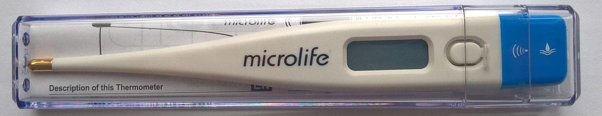 Microlife Термометр электронный, цвет: белый. MT 1671